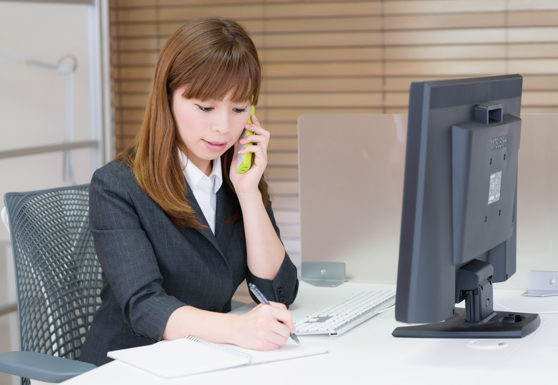 call - 事務職に就職するには派遣登録が重要?
